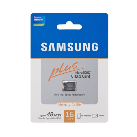 Samsung MicroSDHC 16GB Up to 48MB/s Class 10 Memory Card
