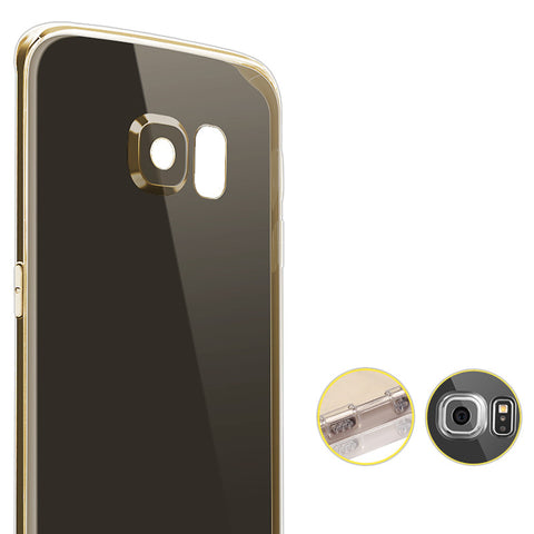 Samsung Galaxy S6 Edge Silicone Case Exclusive Edition (Gold)