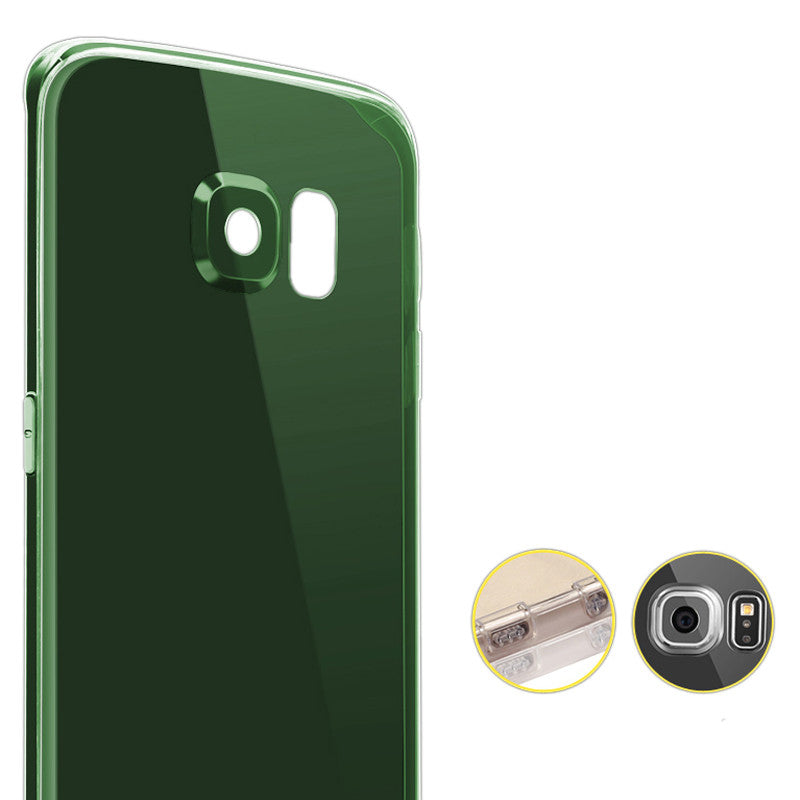 Samsung Galaxy S6 Edge Silicone Case Exclusive Edition (Green)