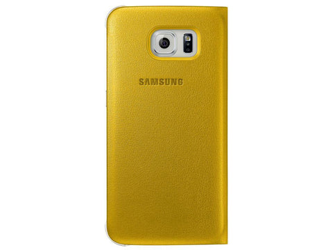 Samsung S-View Cover to suit Galaxy S6 EF-CG920PYEGWW (Yellow)