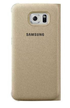 Samsung S-View Cover to suit Galaxy S6 Edge Plus EF-CG928PFEGWW (Gold)