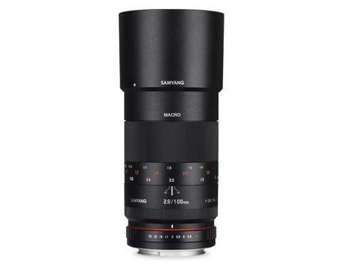 Samyang 100mm f/2.8 Macro for Sony Nex