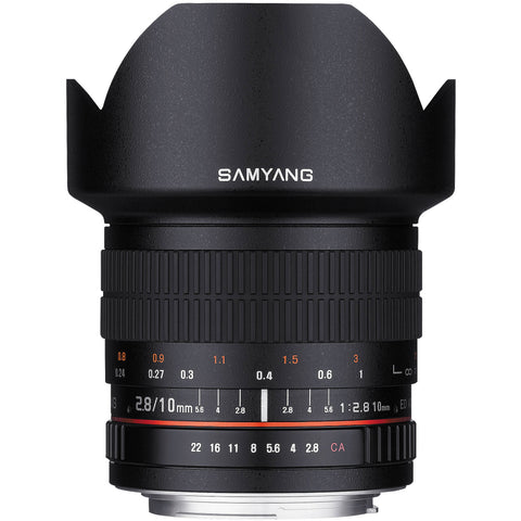 Samyang 10mm f/2.8 ED AS NCS CS Lens (Nikon)