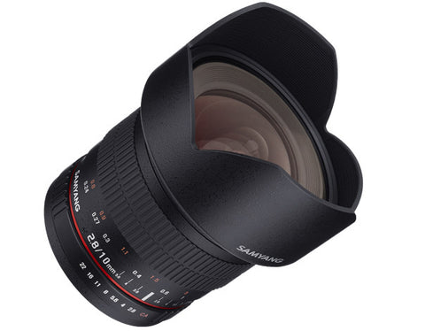 Samyang 10mm f/2.8 ED AS NCS CS Lens (Sony Alpha)