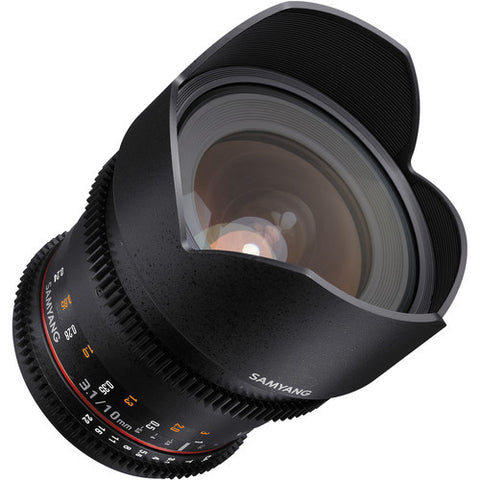Samyang 10mm T3.1 VDSLR for Canon