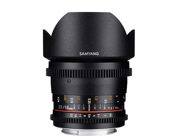 Samyang 10mm T3.1 VDSLR II for Nikon