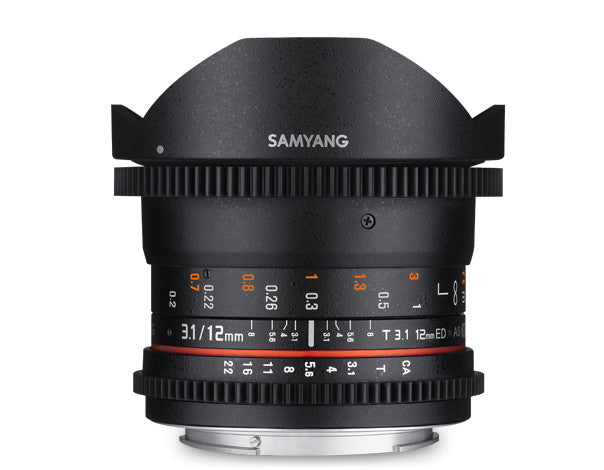 Samyang 12mm T3.1 VDSLR For Fuji X
