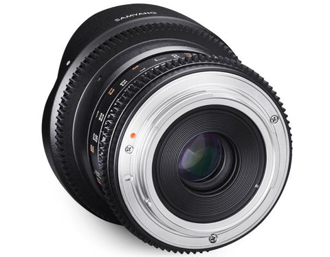 Samyang 12mm T3.1 VDSLR For Canon EOS M