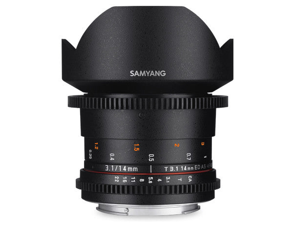 Samyang 14mm T3.1 VDSLR II for Sony Nex