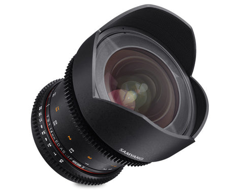 Samyang 14mm T3.1 VDSLR II for Canon