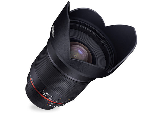 Samyang 16mm f/2.0 ED AS UMC CS Lens (Samsung NX)