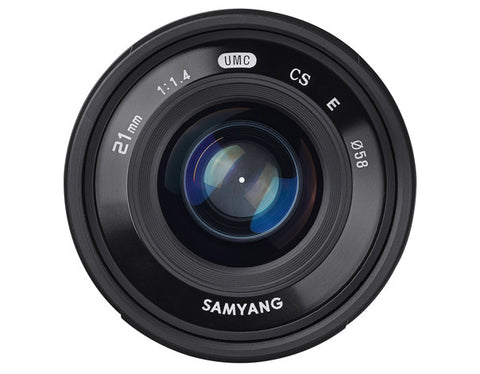 Samyang 21mm f/1.4 ED AS UMC CS Lens (Canon)