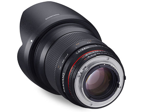 Samyang 24mm f/1.4 AE for Nikon