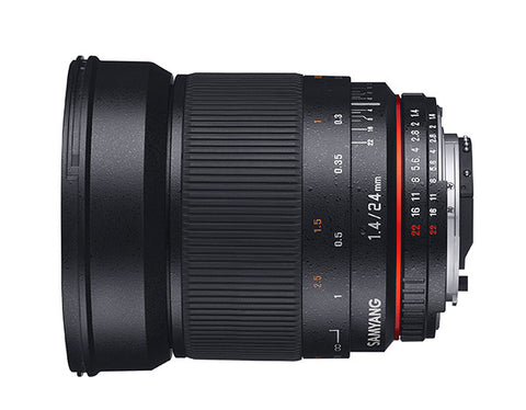 Samyang 24mm f/1.4 for Sony Nex