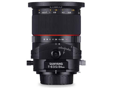 Samyang 24mm f/3.5 ED AS UMC Tilt-Shift Lens for Fuji X
