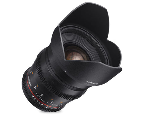 Samyang 24mm T1.5 VDSLR II for Sony Nex