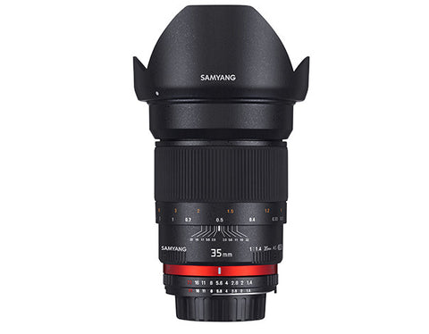 Samyang 35mm f/1.4 AE for Canon