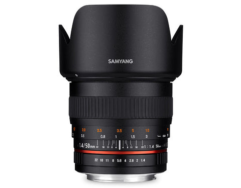 Samyang 50mm f/1.4 for Nikon
