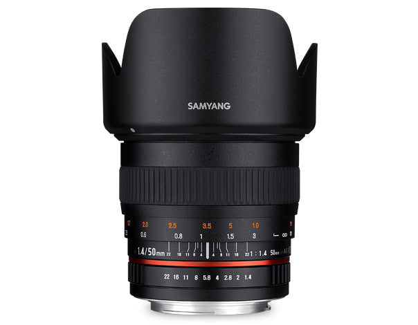Samyang 50mm f/1.4 for Sony Alpha