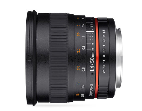 Samyang 50mm f/1.4 for Sony Nex