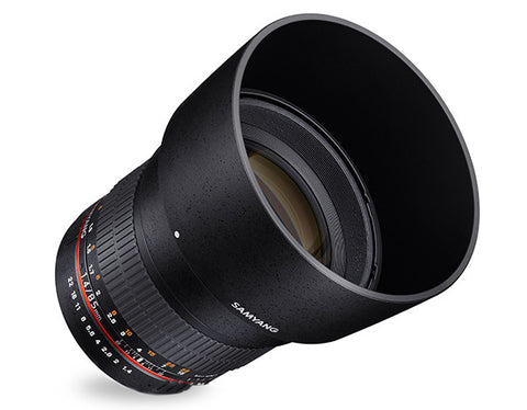 Samyang 85mm f/1.4 AE for Nikon
