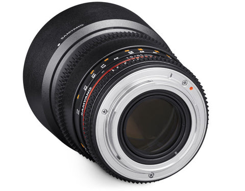 Samyang 85mm T1.5 AS IF UMC II Cine Lens for Sony NEX E-Mount