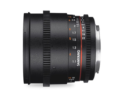 Samyang 85mm T1.5 AS IF UMC II Cine Lens for Canon
