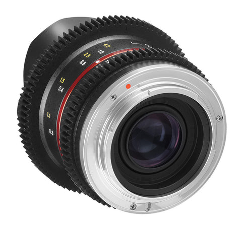 Samyang 8mm T3.1 V-DSLR UMC Fish-eye II Lens (Sony E- Mount)