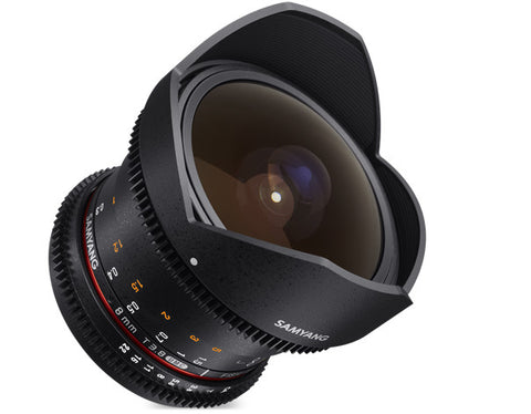 Samyang 8mm T3.8 UMC VDSLR Fish-Eye CS II Lens for Canon