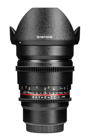 Samyang 16mm T2.2 ED AS UMC CS VDSLR Lens (Sony E-Mount)