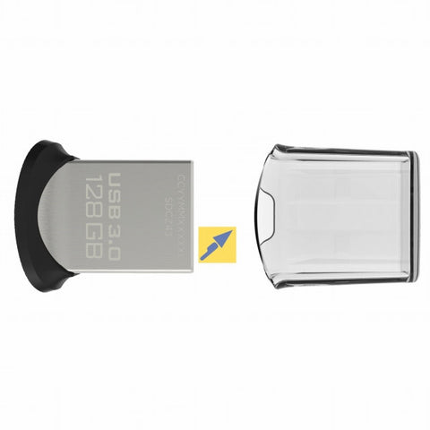 SanDisk Cruzer Ultra Fit SDCZ43-128G 128GB USB 3.0 Flash Drive