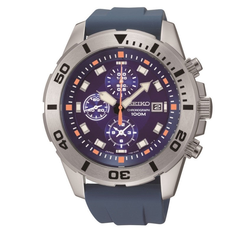 Seiko Chronograph SNDE03 Watch (New with Tags)