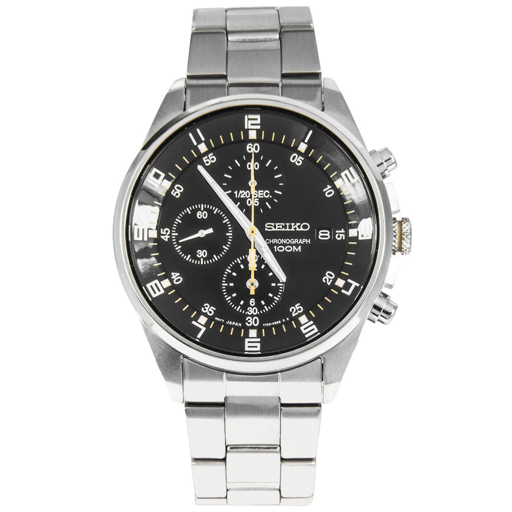 Seiko Sports Chronograph SNDC89P1 Watch (New with Tags)