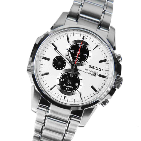 Seiko Solar Chronograph SSC083 Watch (New with Tags)