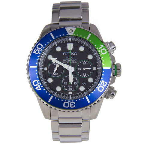 Seiko Solar SSC239 Watch (New with Tags)
