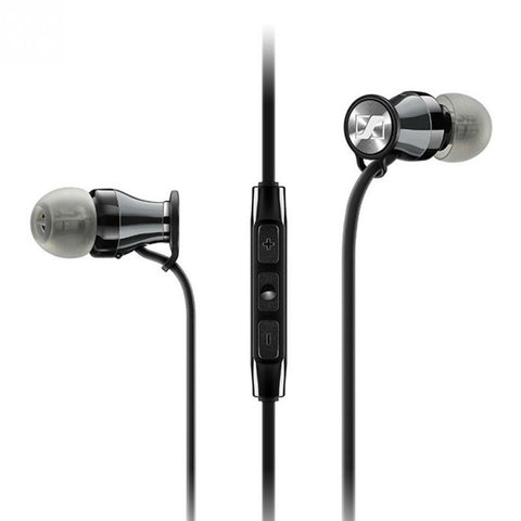 Sennheiser Momentum In-ear G Headphones (Chrome Black)