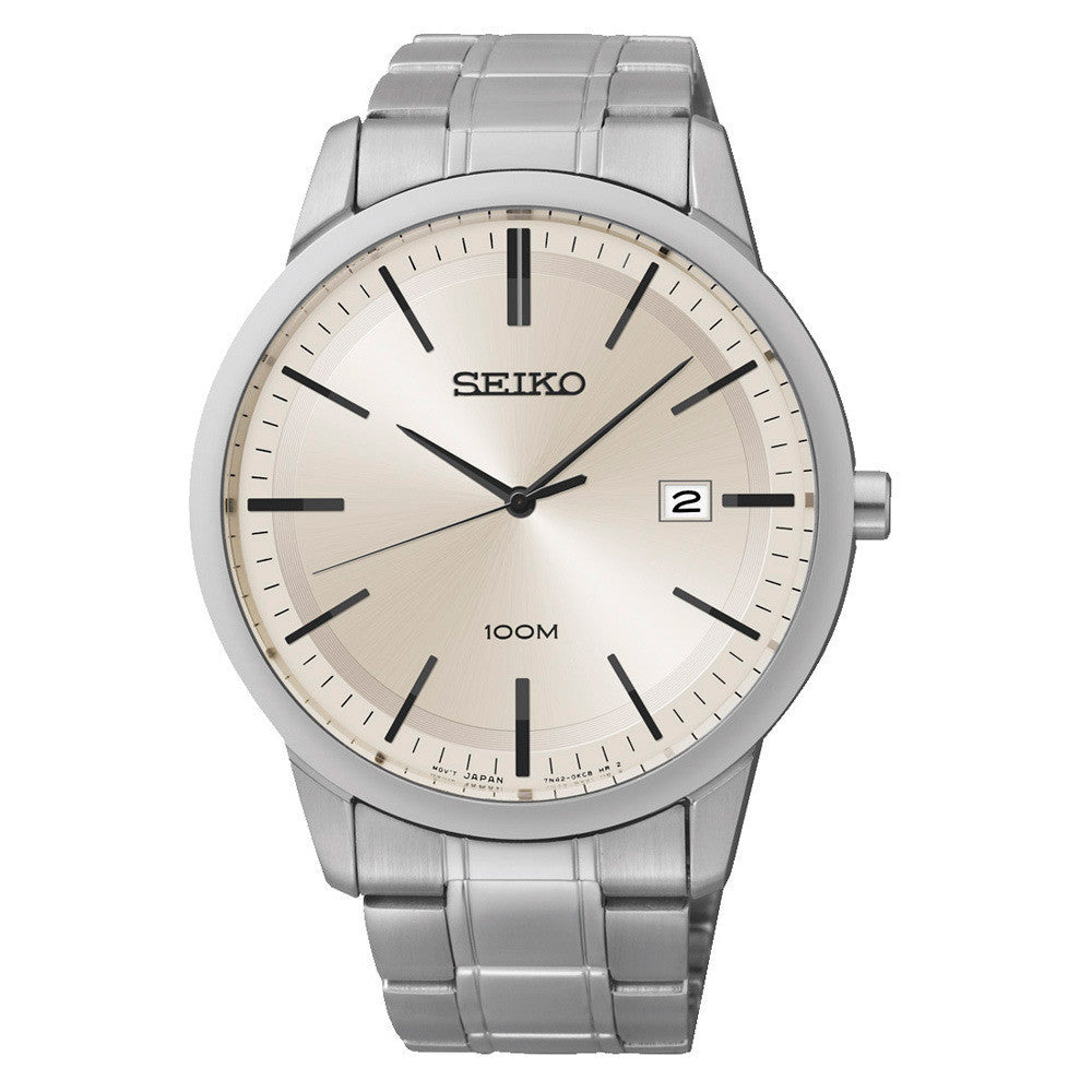 Seiko Quartz Analog SGEH07 Watch (New with Tags)