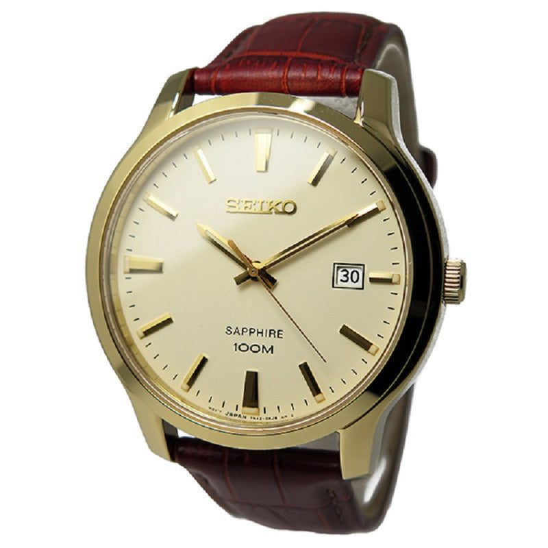 Seiko Classic SGEH44 Watch (New with Tags)