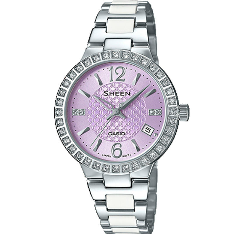 Casio Sheen SHE-4049D-6A Watch (New with Tags)