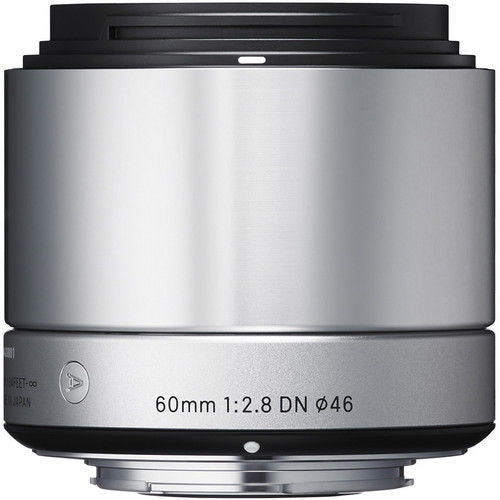 Sigma 60mm f/2.8 DN (M3/4-mount) Silver Lens