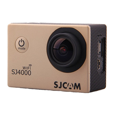 SJCAM SJ4000 WiFi 1080p Full HD DVR Action Sport Camera Gold