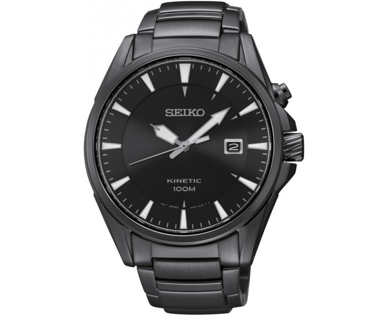Seiko Montre Kinetic SKA567 Watch (New with Tags)