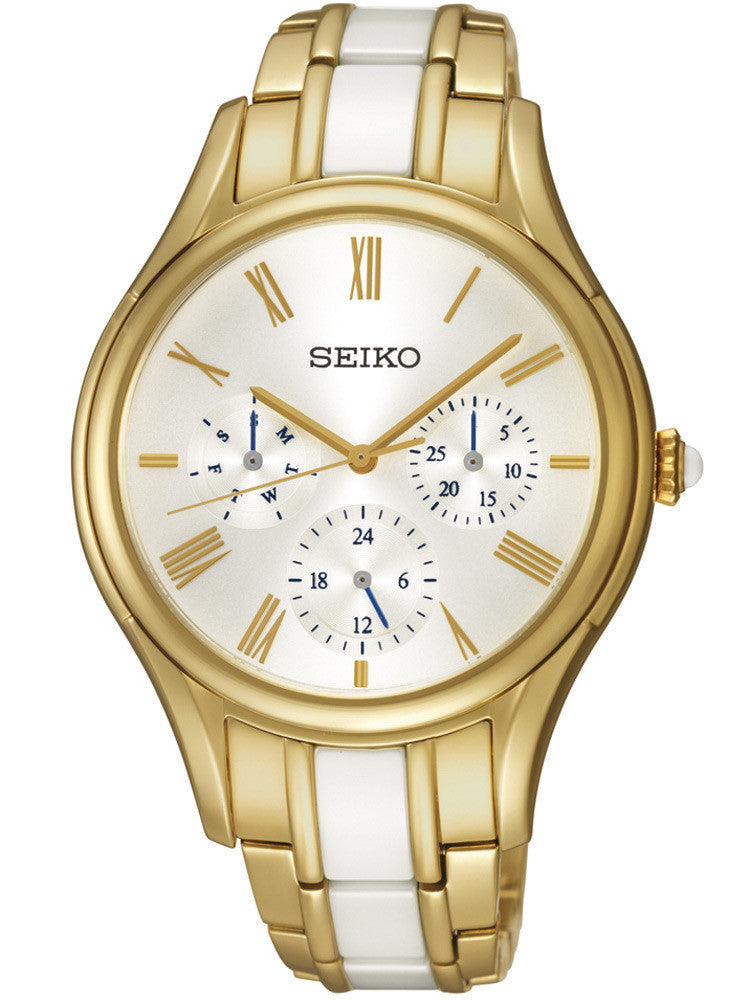 Seiko Ceramic SKY718 Watch (New with Tags)