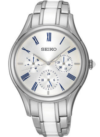Seiko Ceramic SKY721 Watch (New with Tags)