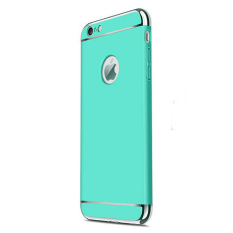 Hard Shell Case 4.7 inch for iPhone 6/6s (Sky Blue Steel Film)