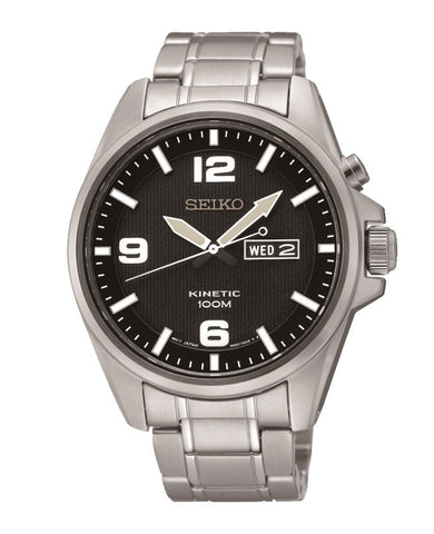 Seiko Sport Kinetic SMY137 Watch (New with Tags)