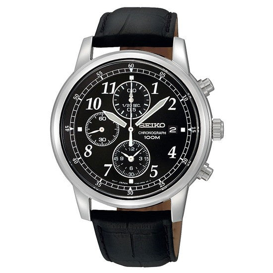 Seiko Chronograph SNDC33P1 Watch (New with Tags)