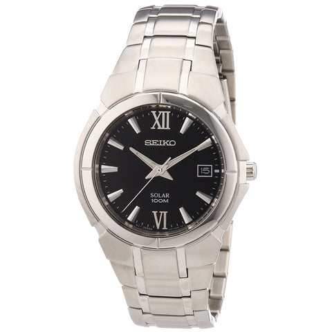Seiko Solar Quartz SNE087 Watch (New with Tags)