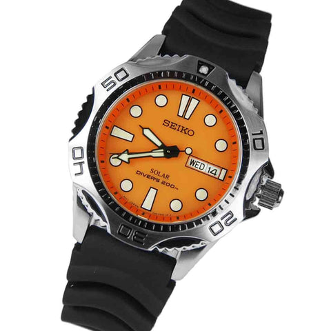 Seiko Solar Scuba Diver SNE109 Watch (New with Tags)