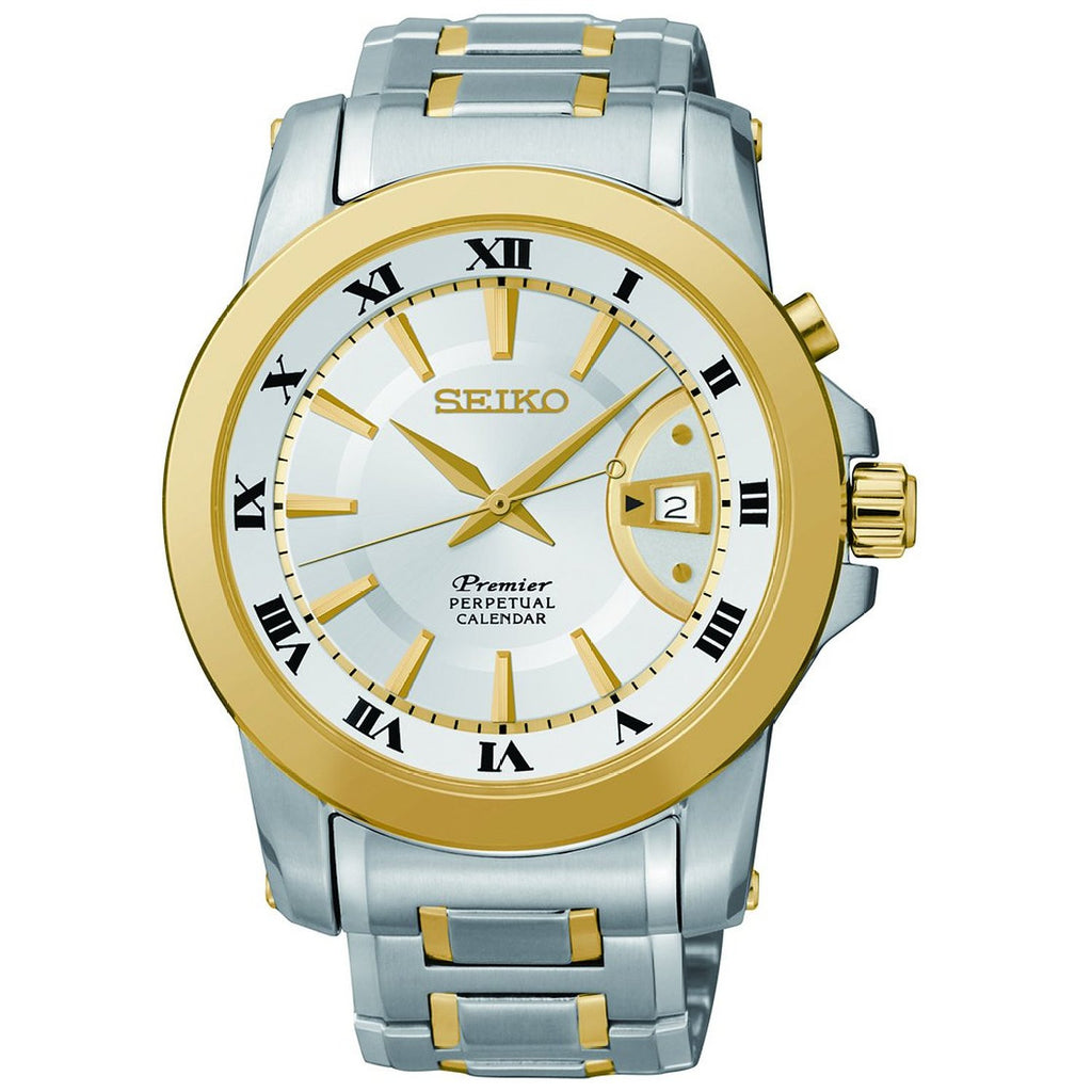 Seiko Premier Perpetual Calendar SNQ142 Watch (New With Tags)